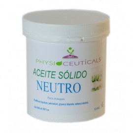 Aceite Sólido Neutro 500 ml Physioceuticals